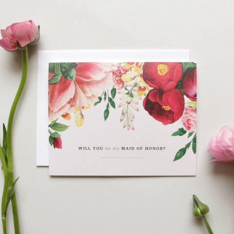 SALE! Will You Be My Maid Of Honor? Card