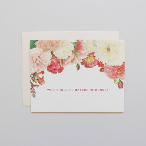 SALE! Will You Be My Matron Of Honor? Card