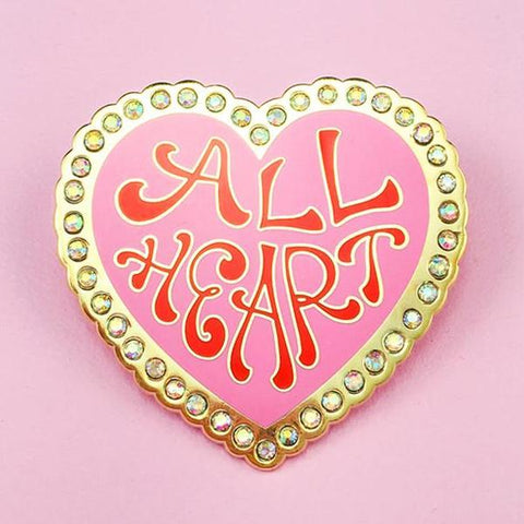 All Heart Lapel Pin