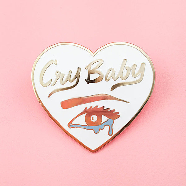 Cry Baby Lapel Pin