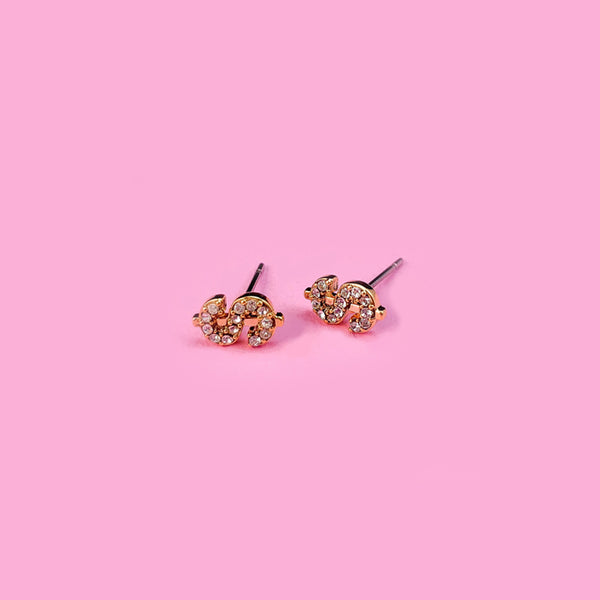 Tiny Bling $ Earrings