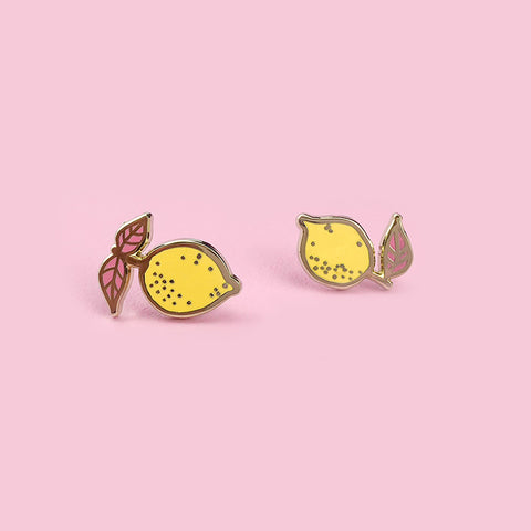 Petite Lemons Stud Earrings