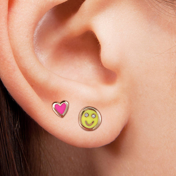 Smiley Face Earrings