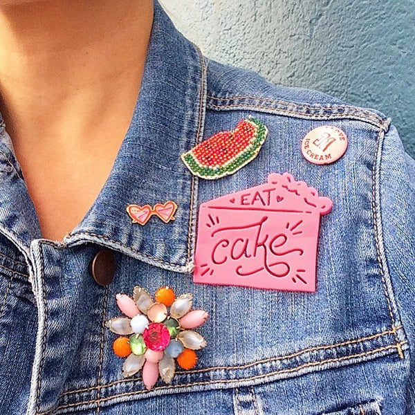 Gifts - Happy Pins - Eat Cake Happy Pin