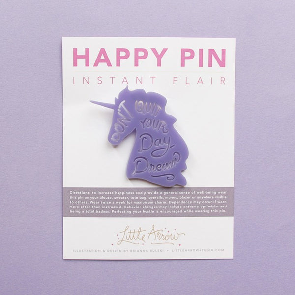 Gifts - Happy Pins - Unicorn Day Dreams Happy Pin
