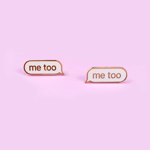 #metoo Pin Set