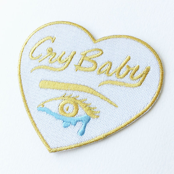 Cry Baby Heart Patch - Metallic Gold Limited Edition