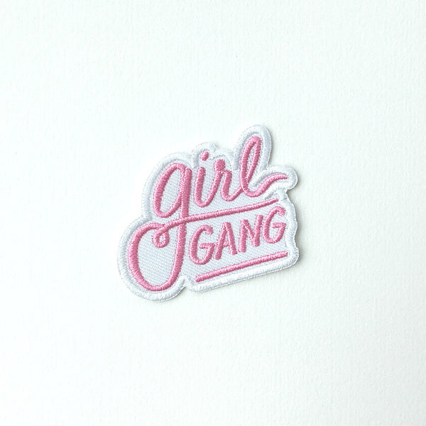 Girl Gang Patch - Bubblegum Pink