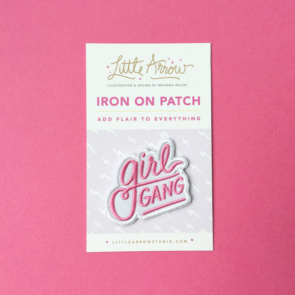 Girl Gang Patch - Bubblegum Pink *Pre-order*