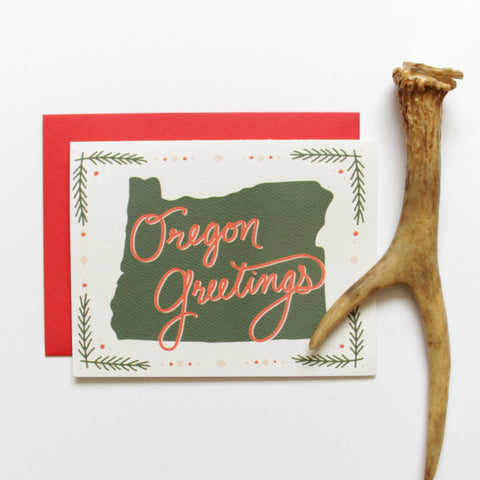 SALE! Oregon Greetings Holiday Card