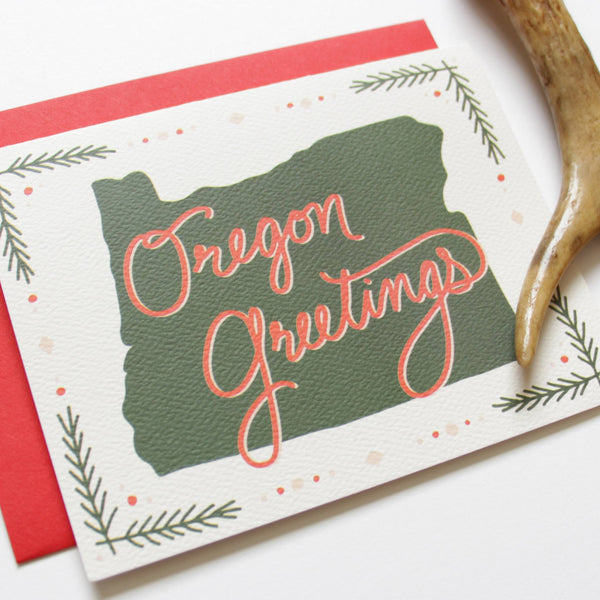 Holiday - Cards - Oregon Greetings Holiday Card