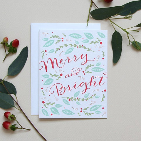 SALE! Winter Bouquet Holiday Card
