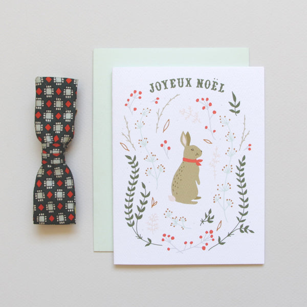 Holiday - Cards - Winter Hare Holiday Card