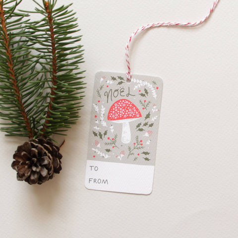 Yuletide Forest Holiday Gift Tags