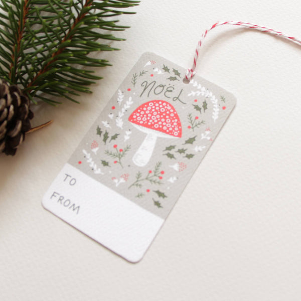 Holiday - Gift Tags - Yuletide Forest Holiday Gift Tags