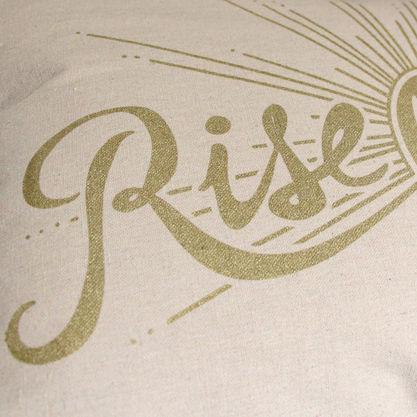 Home Goods - Rise & Shine Pillow