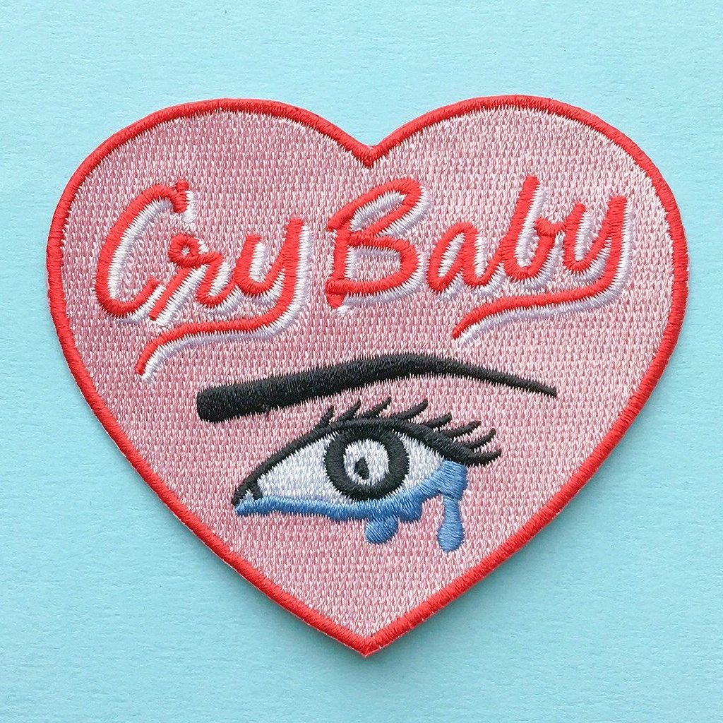 Cry Baby Heart Patch