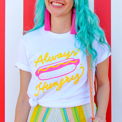 Always Hungry Tee - Size XS