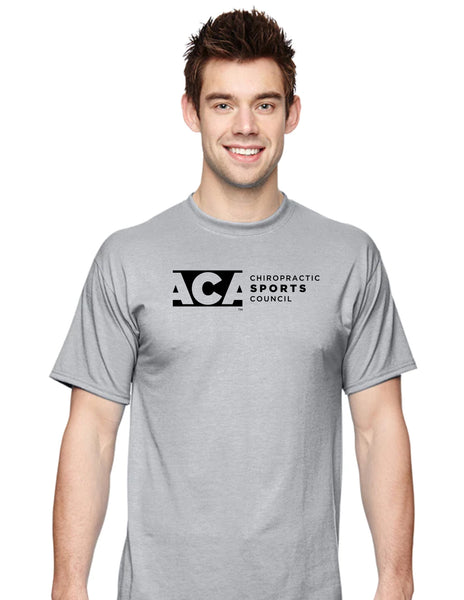 Black ACA Logo Performance Short Sleeve