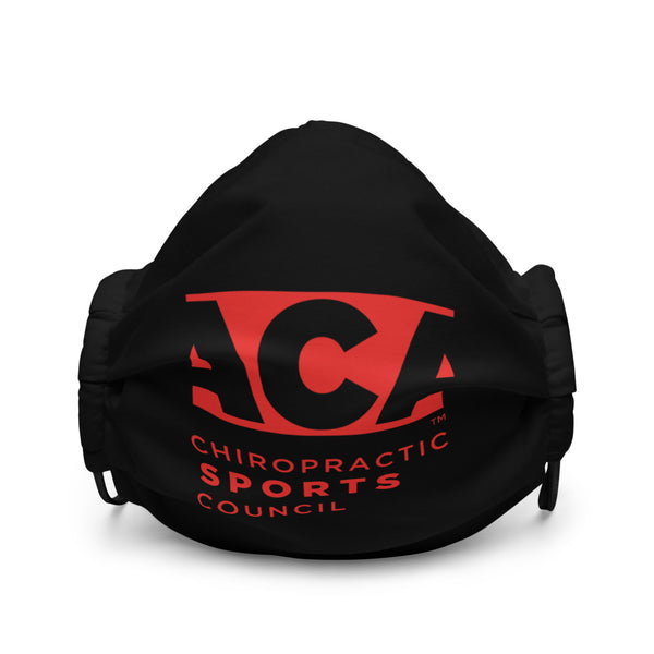 ACA Mask with Red Logo
