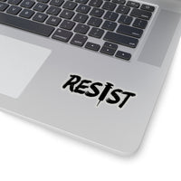 RESIST Kiss-Cut Stickers in 4 Sizes - Medical Freedom, Bill Gates, Nurse, Doctor, Truth
