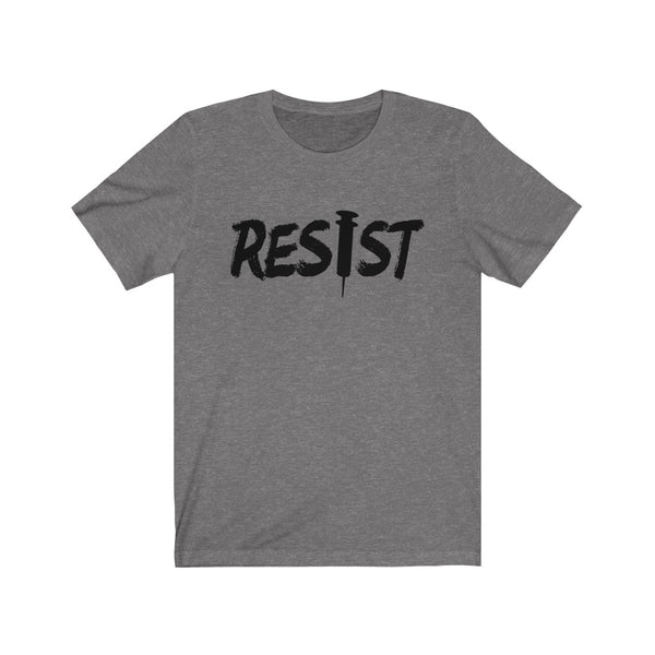 Free Shipping!! RESIST - Bella & Canvas Unisex Jersey Short Sleeve Tee - Medical Freedom, IDK, IDGAF, kys, ngl,