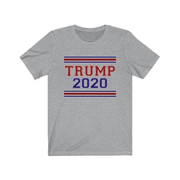 TRUMP 2020 - Unisex Jersey Short Sleeve Tee - Donald J Trump, Election, Patriot,