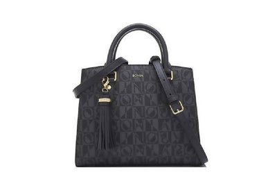 Bonia Monogram Sophia Basic Satchel