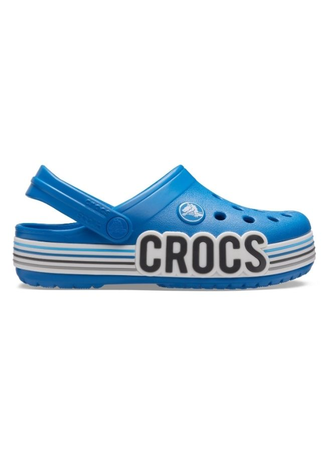 Crocband Kids' Logo Stripe Clog PS PrB