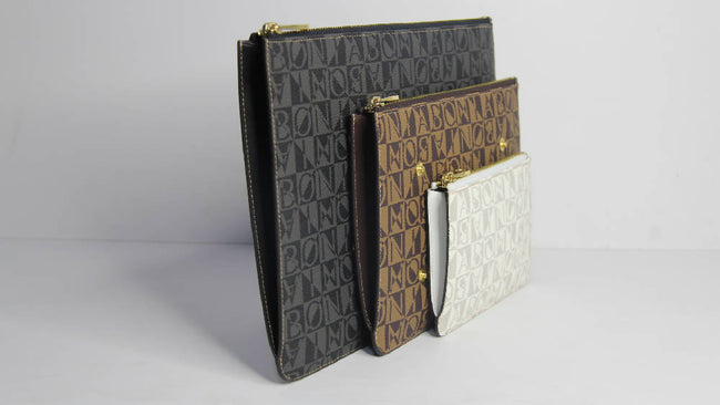 Bonia Vinyl Leather Lady Wallet