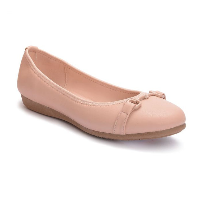 BATA LADIES PINK FLAT SHOES