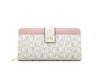 CLAIRE MARRONE LONG ZIPPERED WALLET