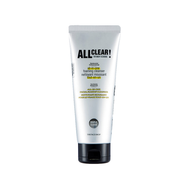 ALL CLEAR ALL IN-ONE FOAMING CLEANSER