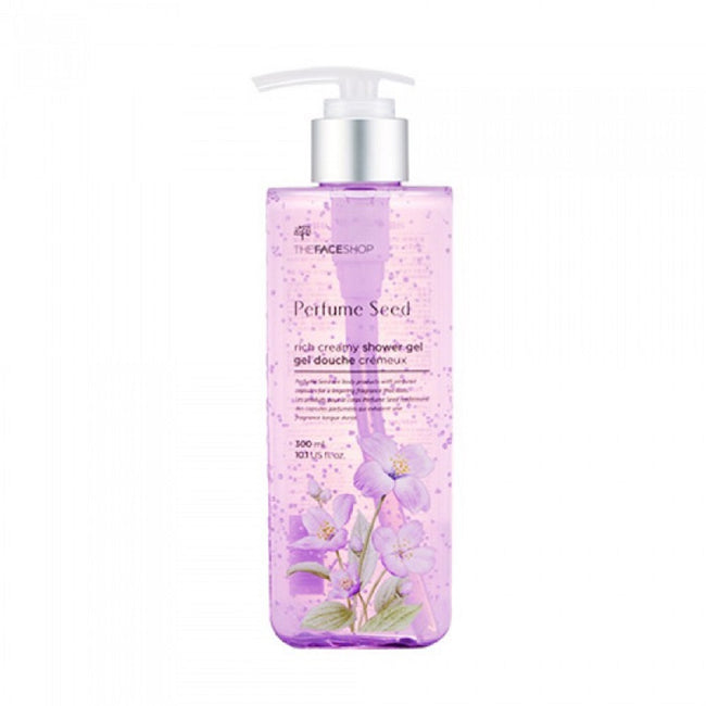 Perfume Seed Rich Creamy Shower Gel