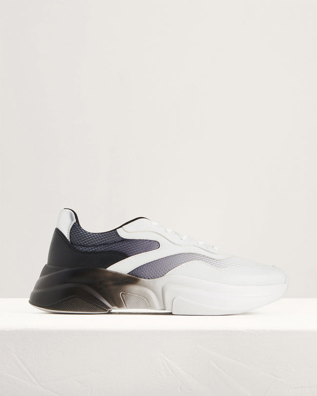 Ombre-Effect Chunky Sneakers