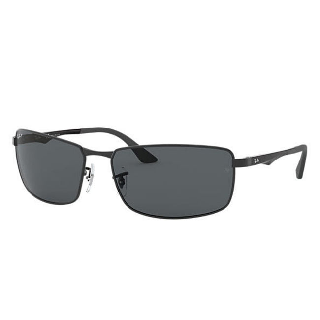 Ray Ban Men Rectangle Polar Grey Sunglass