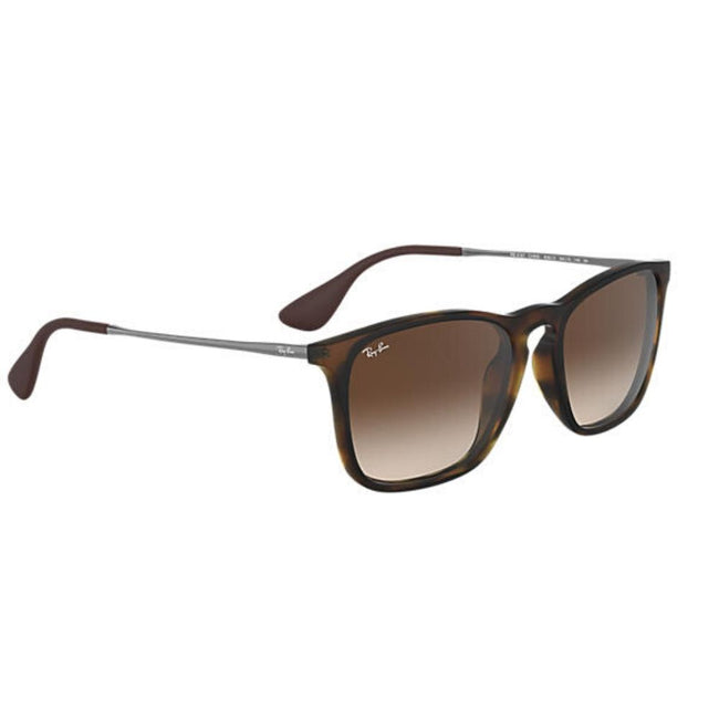 Ray Ban Men Square Rubber Havana Sunglass