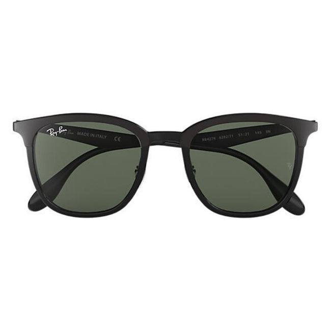 Ray Ban Unisex Square Black Sunglass