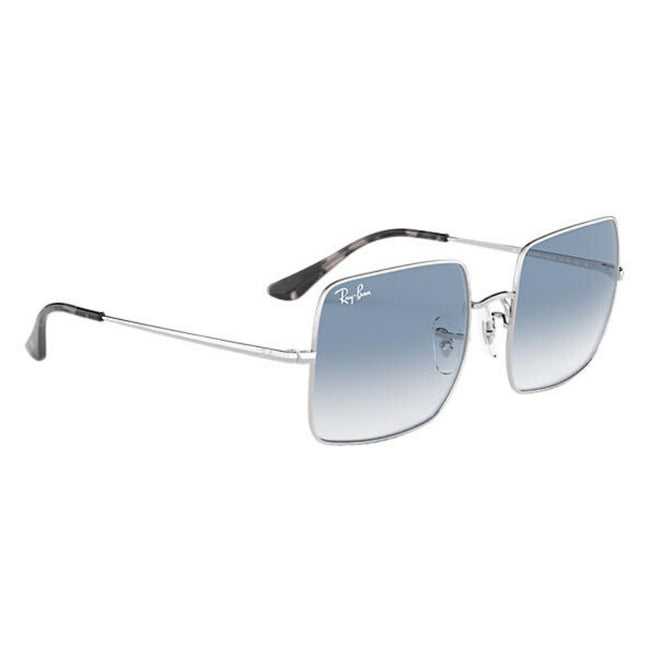 Ray Ban Women Sunglass Square Gradient Blue(Silver)