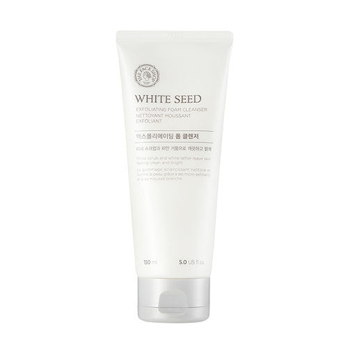 WHITE SEED EXFOLIATING CLEANSING FOAM