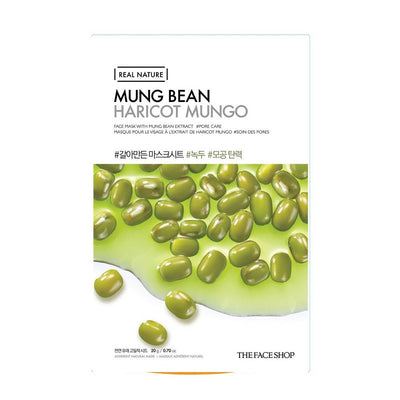 REAL NATURE MASK SHEET MUNG BEAN.2017