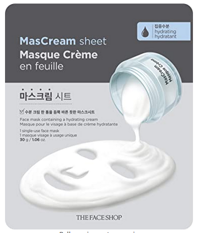 INTENSE HYDRATING MASCREAM SHEET