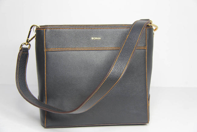 Bonia Full Leather Shoulder Bags Casual