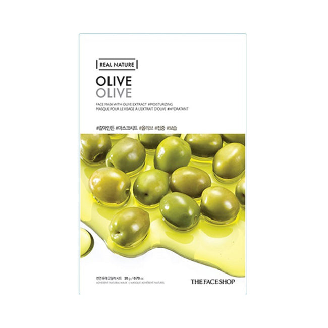 REAL NATURE MASK SHEET OLIVE.2017