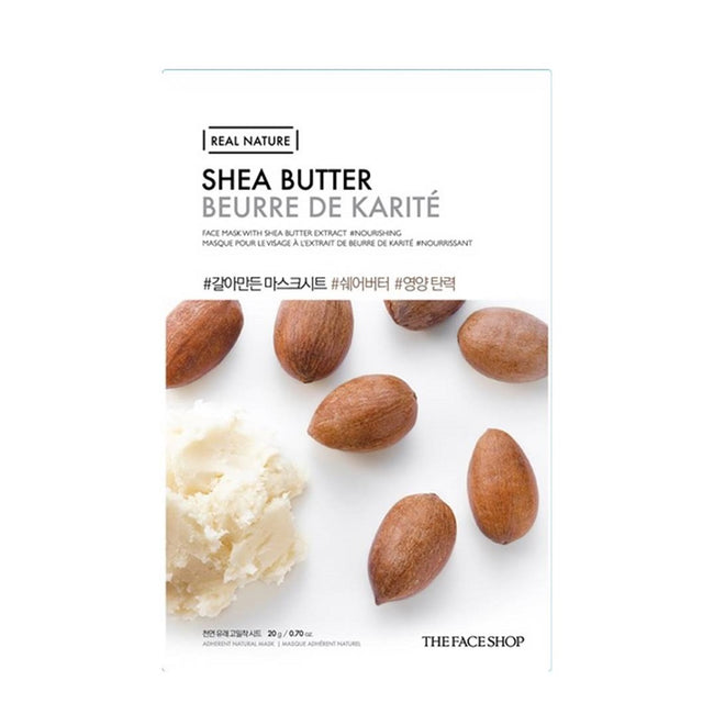 REAL NATURE MASK SHEET SHEA BUTTER.2017