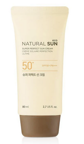 NATURAL SUN ECO SUPER PERFECT SUN CREAM 50+PA+++