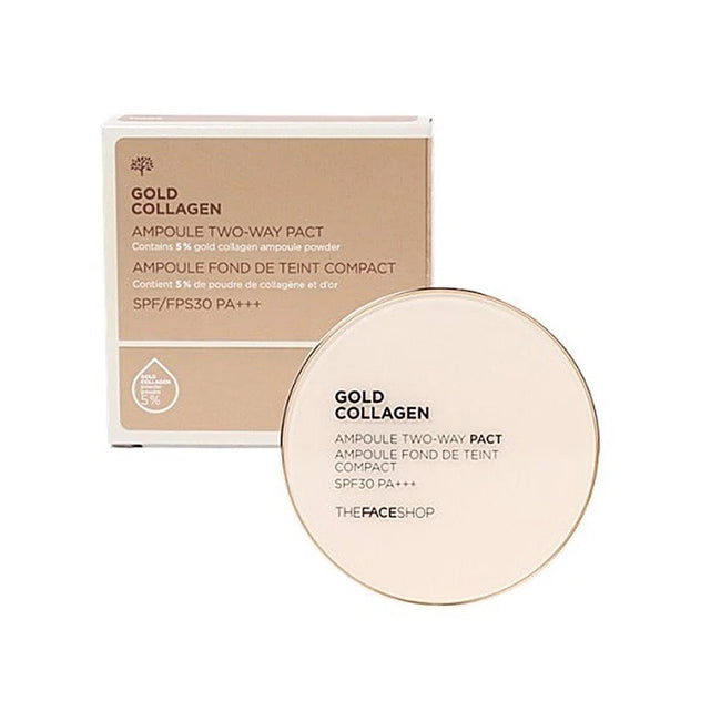 GOLD COLLAGEN AMPOULE TWO-WAY PACT SPF30 PA+++V201