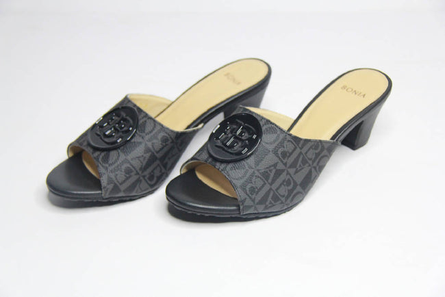 Bonia Full Leather Lady Shoes Open Totes