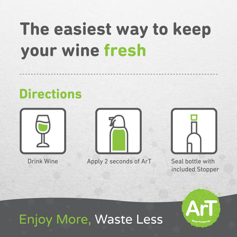 How to Use ArT Wine Preserver