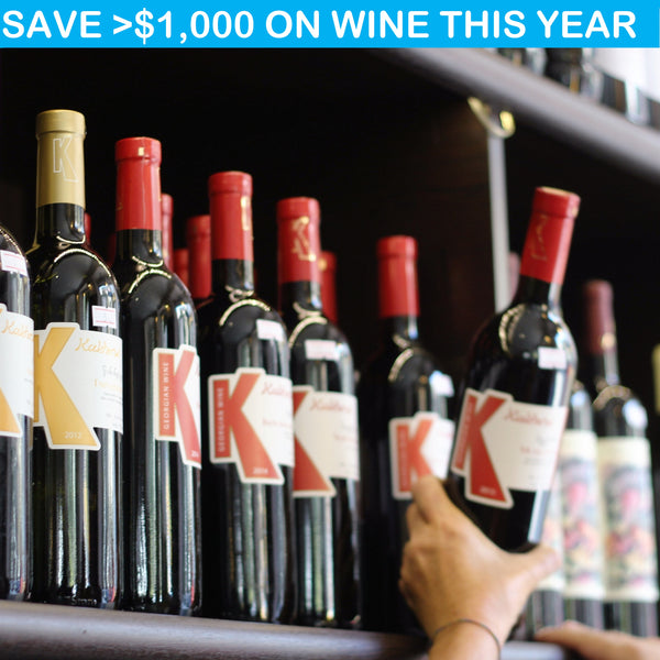 Save over $1,000 on wine this year